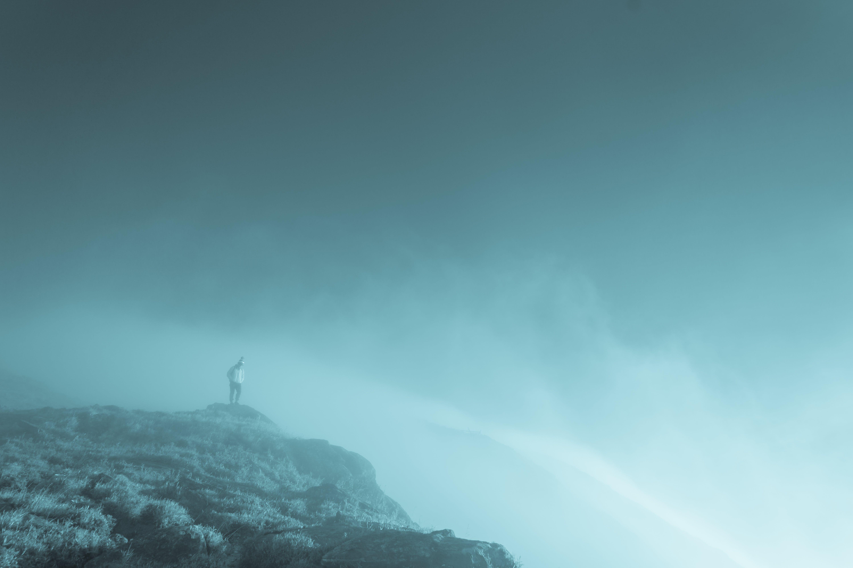 Kostenloses Stock Foto zu berg, fels, felswand, himmel