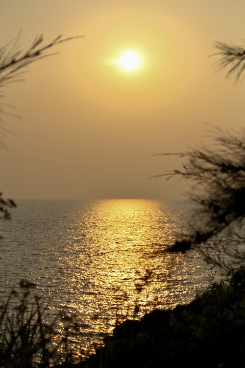 물, 석양, 해변의 무료 스톡 사진