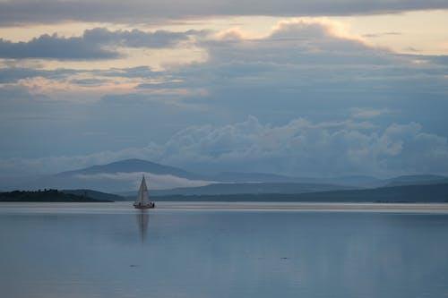 Free stock photo of beach, boat, dawn
