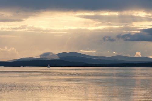 Free stock photo of beach, cloud, dawn
