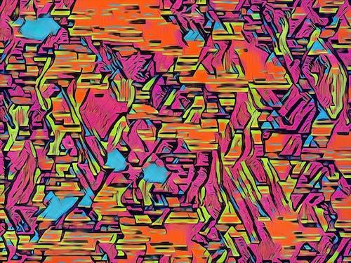 Foto profissional grátis de abstrair, abstrato, arte contemporânea