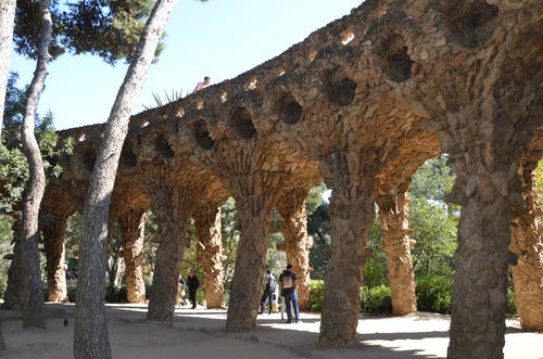barcelona, parque, puente içeren Ücretsiz stok fotoğraf