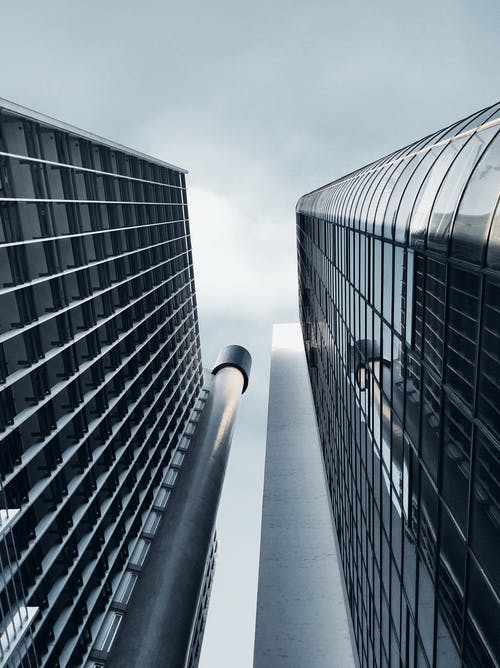 Foto profissional grátis de aço, arquitetura, arranha-céu