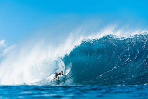 Gratis lagerfoto af bevægelse, bølge, ekstreme sportsgrene