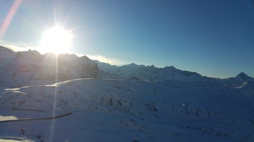 Gratis arkivbilde med fjell, himmel, natur, snø