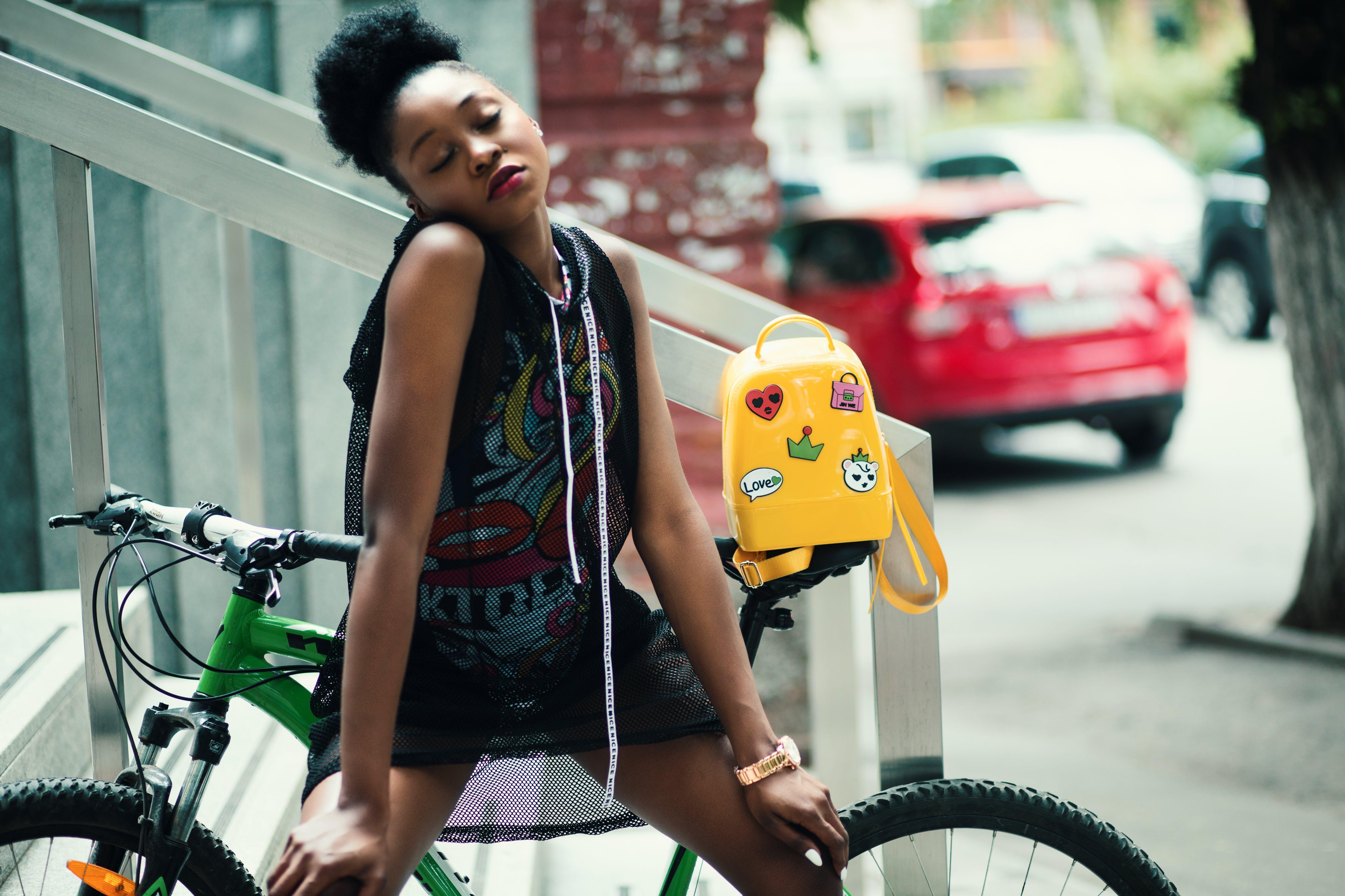 Kostnadsfri bild av afrikansk, afrikansk amerikan kvinna, ansiktsuttryck, bild