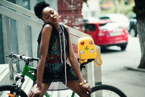 Gratis stockfoto met afbeelding, Afrikaans, Afro-Amerikaanse vrouw, beeld
