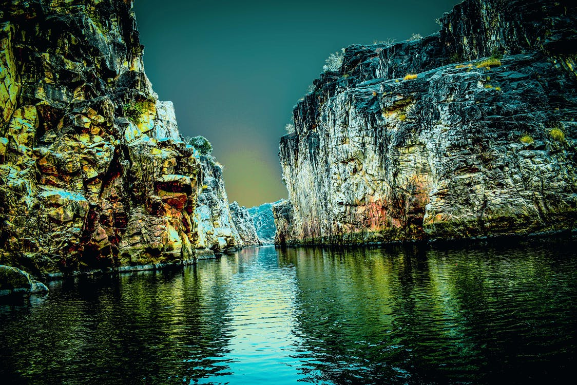 Free stock photo of #marbelrocks #jabalpur #narmada #river ...