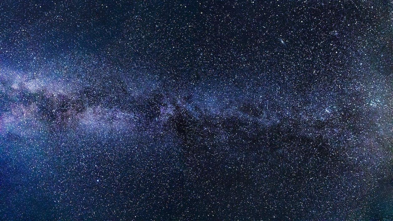 4k-baggrund, astrofotografering, astronomi