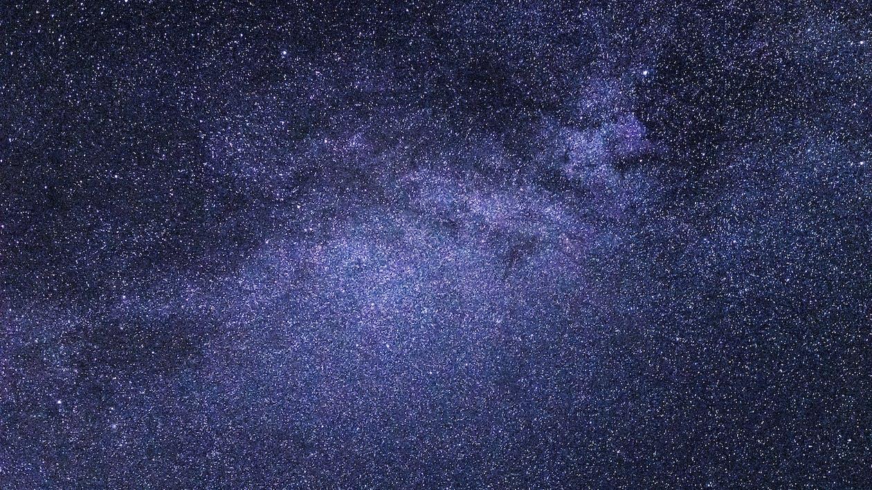 galaxy, απόγευμα, αστέρια