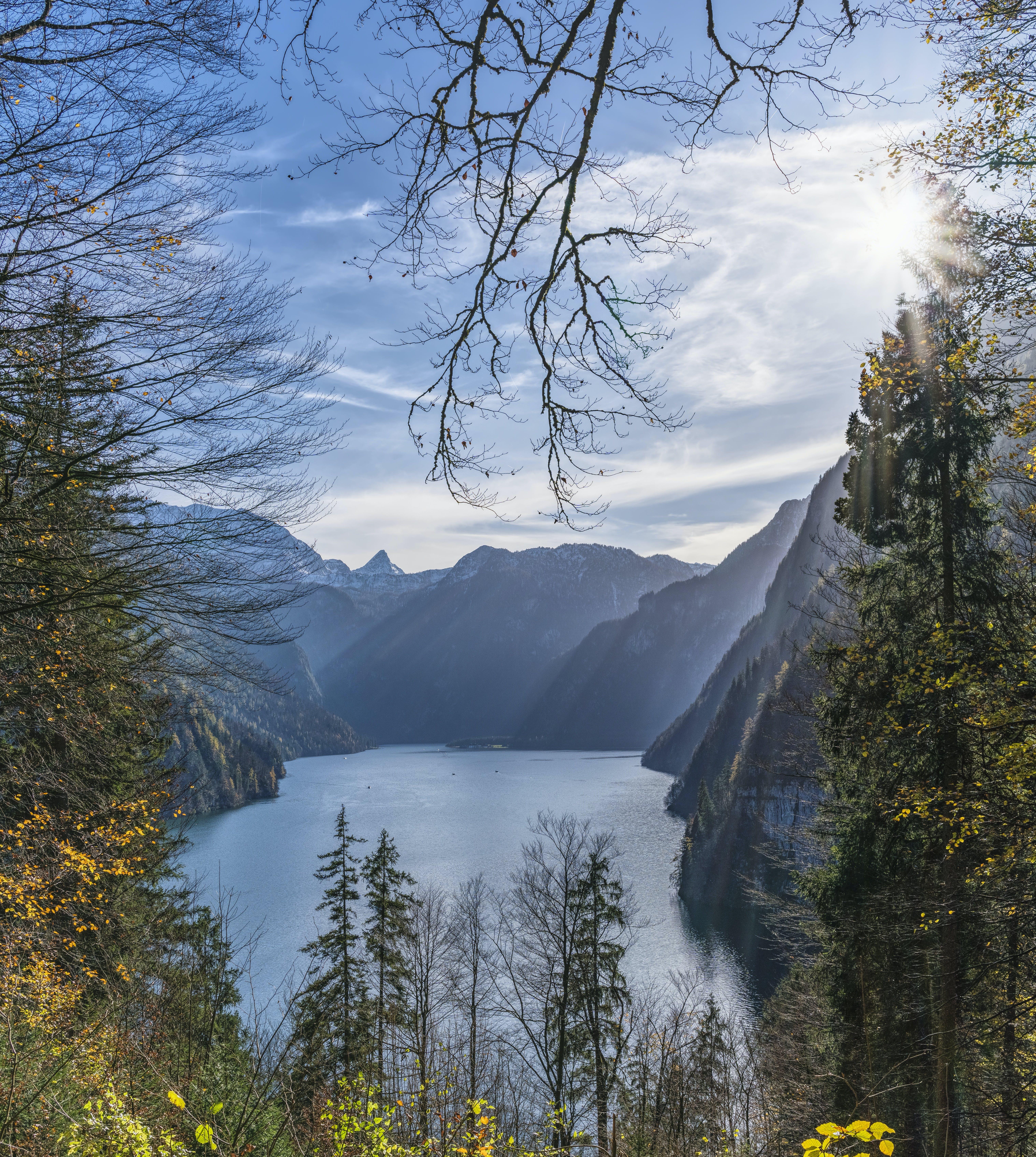 Kostenloses Stock Foto zu bäume, berge, gebirge, himmel