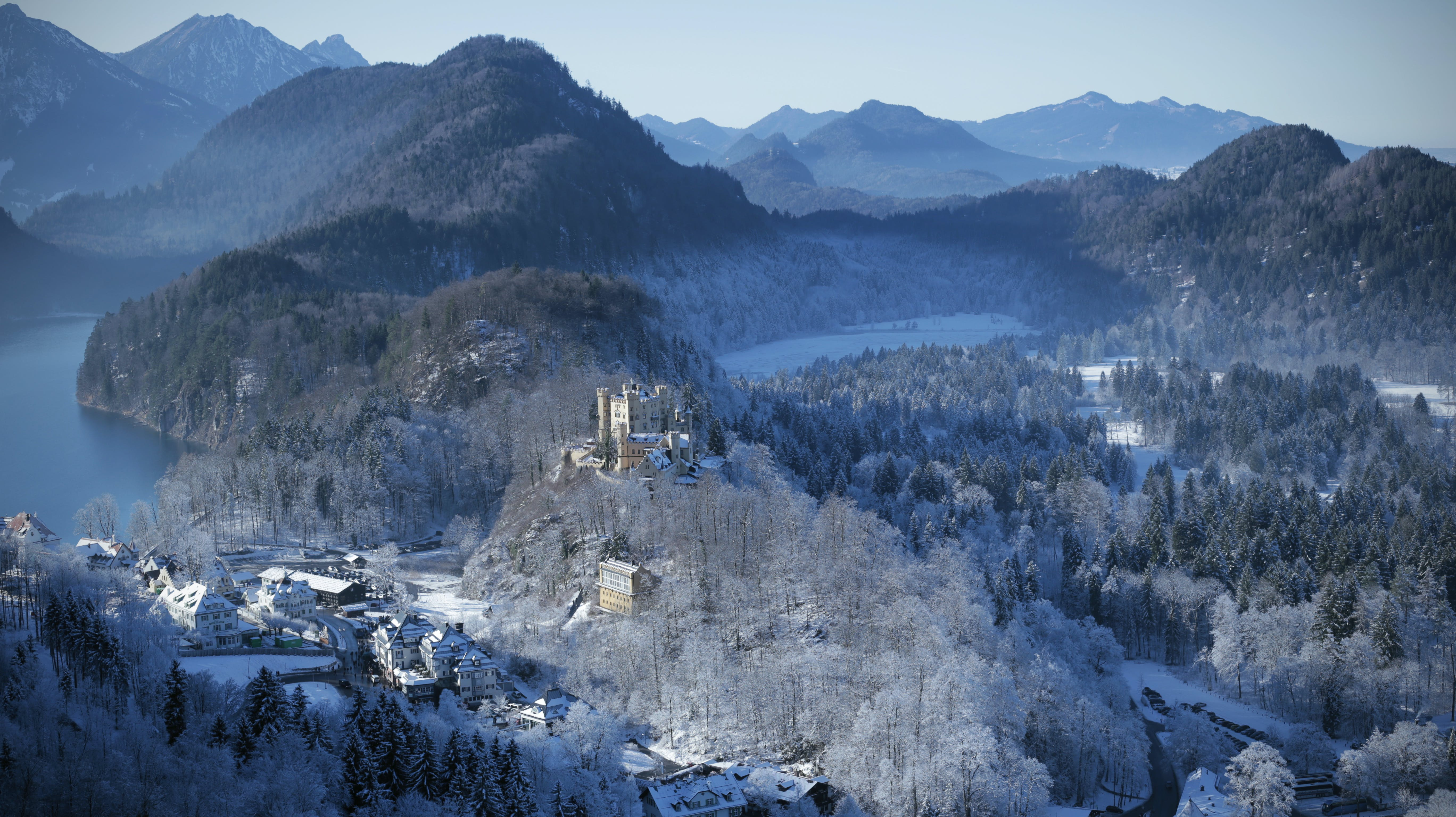 Free stock photo of Bavaria, blue, castle, europe