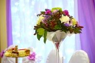 food, flowers, purple