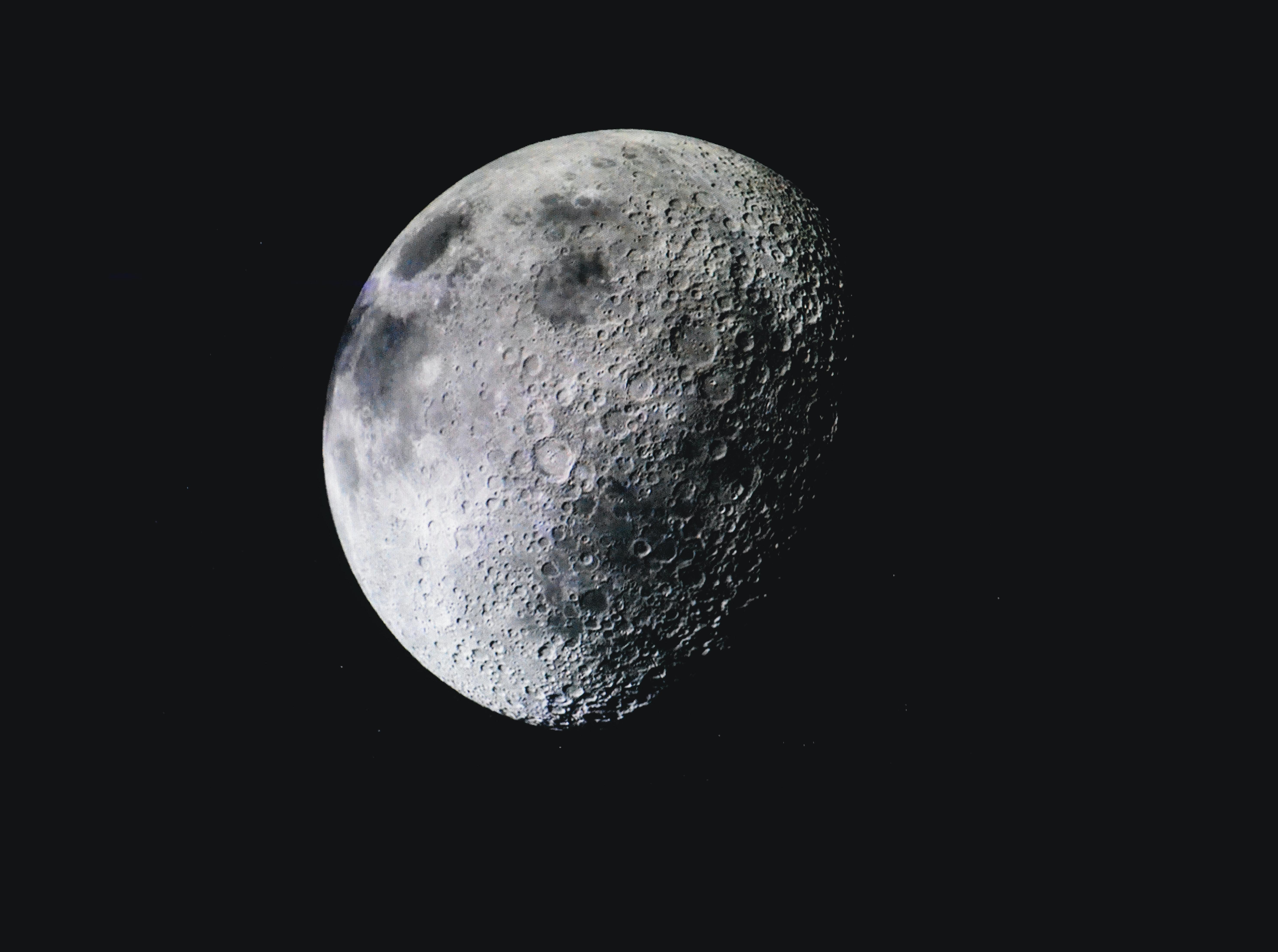 Moon on Focus Photo · Free Stock Photo