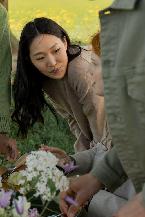 Immagine gratuita di adulto, amici, donna asiatica