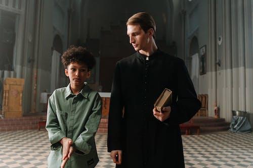 Free stock photo of adult, boy, catholic
