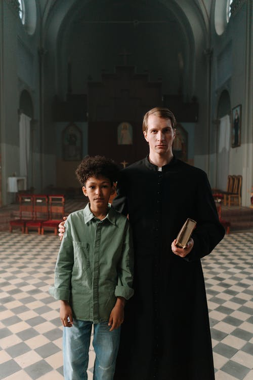 Free stock photo of adult, boy, cathedral