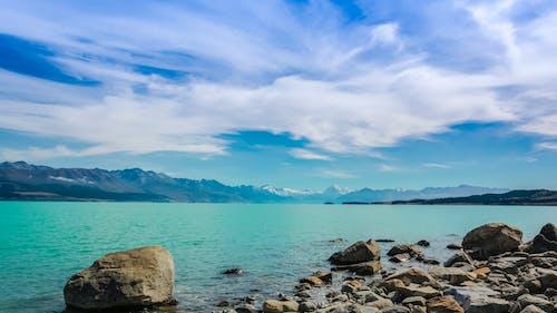 Fotos de stock gratuitas de cian, isla del sur, lado del agua, lago pukaki