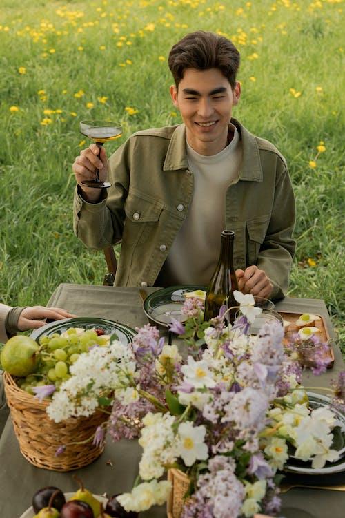 Imagine de stoc gratuită din adult, bărbat asiatic, băut