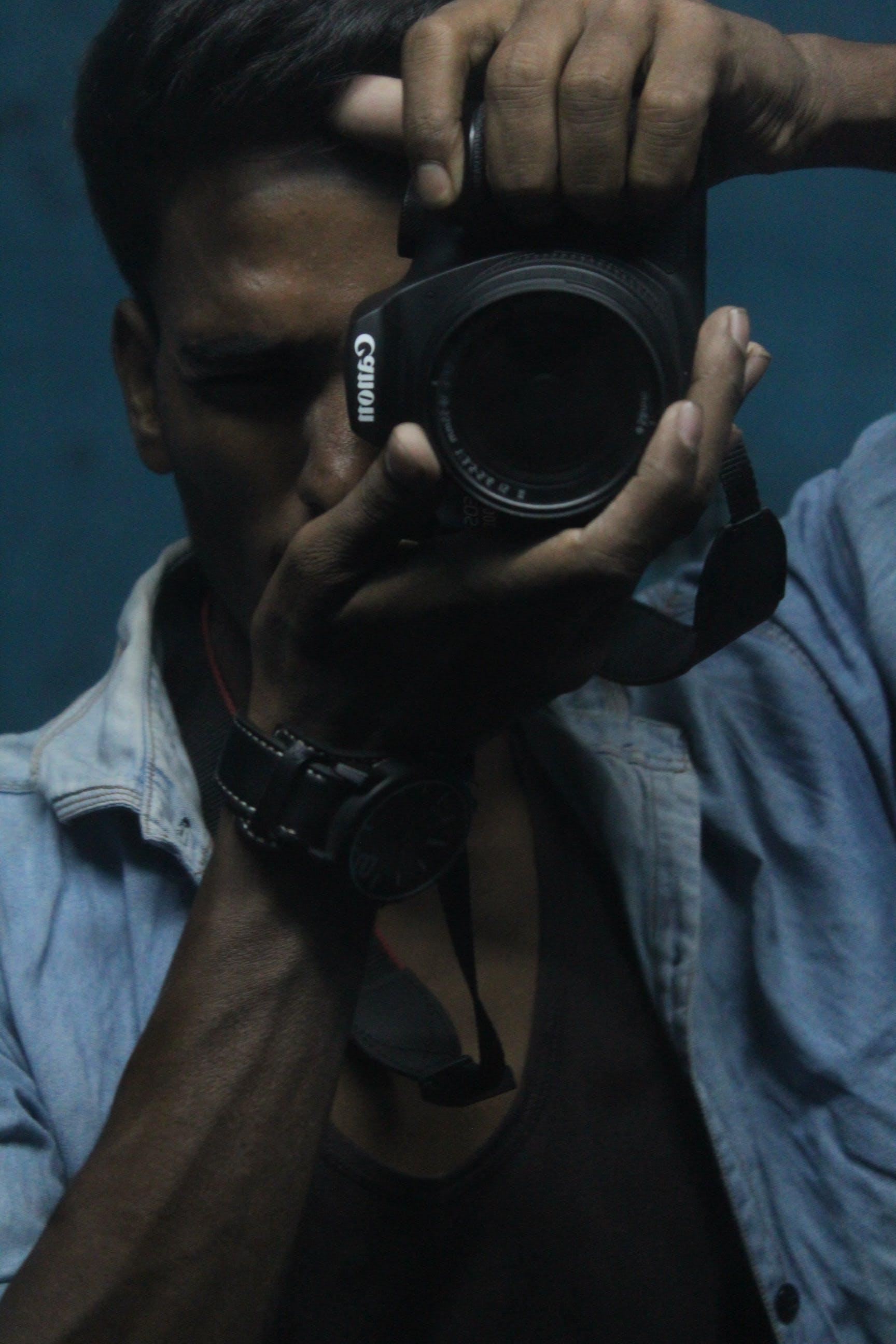 camera, canon, casual