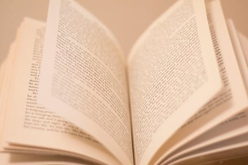 Free stock photo of book pages