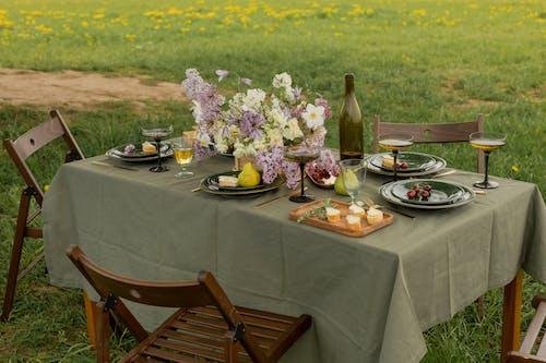 Immagine gratuita di apparecchiatura della tavola, bellissimo, cena