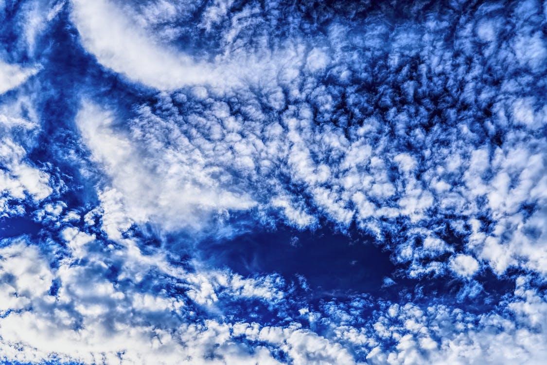 bulutlar, gökyüzü, gün ışığı