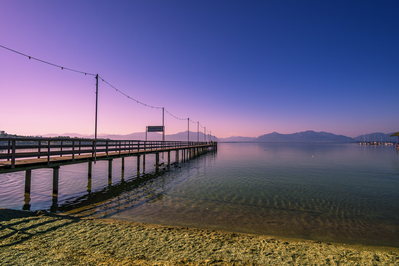 Ảnh lưu trữ miễn phí về bầu trời, Bavaria, bến tàu, biển