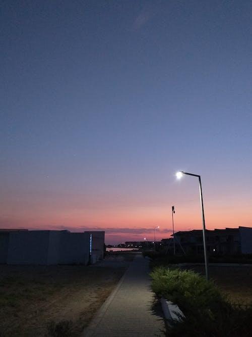 Ingyenes stockfotó gyönyörű naplemente témában