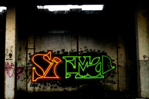 Kostenloses Stock Foto zu graffiti, kunst, mauer, straßenkunst