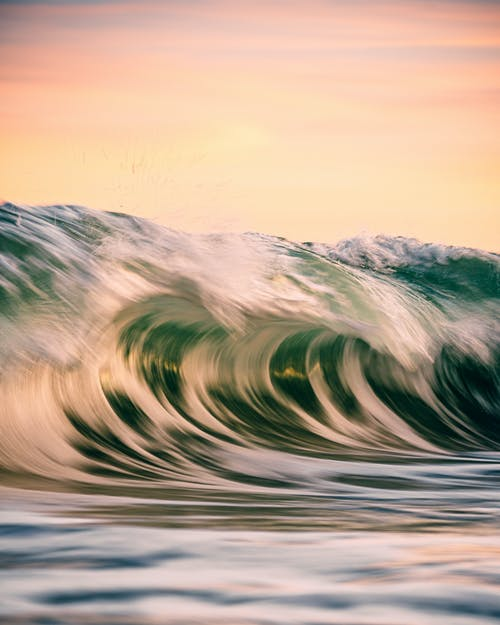 Gratis lagerfoto af bølge, flydende vand, hav