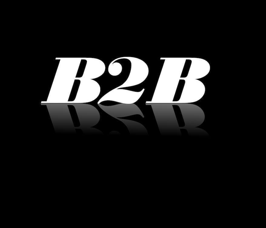 Free stock photo of B2B illustration text