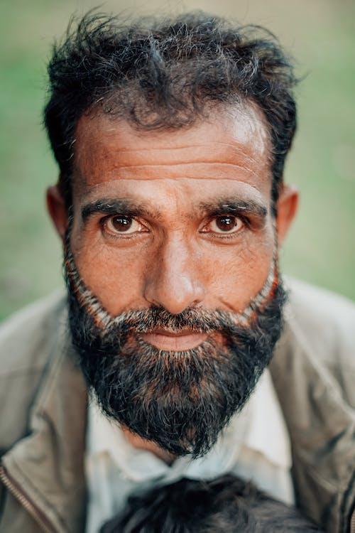 Foto profissional grátis de 3x4, barba, cara