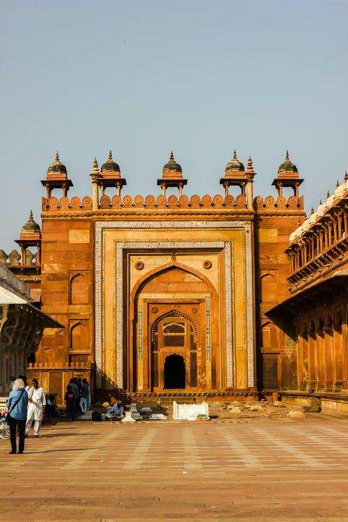 Free stock photo of arched door, india, indian history