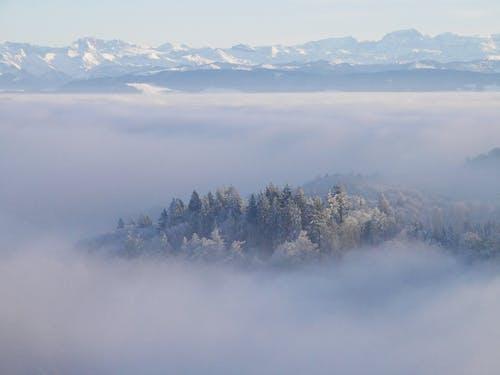 Kostnadsfri bild av bakgrundsbild, bergen, dimma, lugn