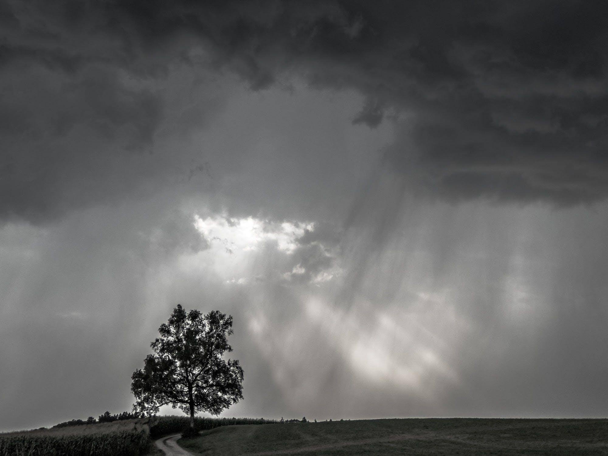 Foto stok gratis awan gelap, formasi awan, gambar latar belakang, getaran