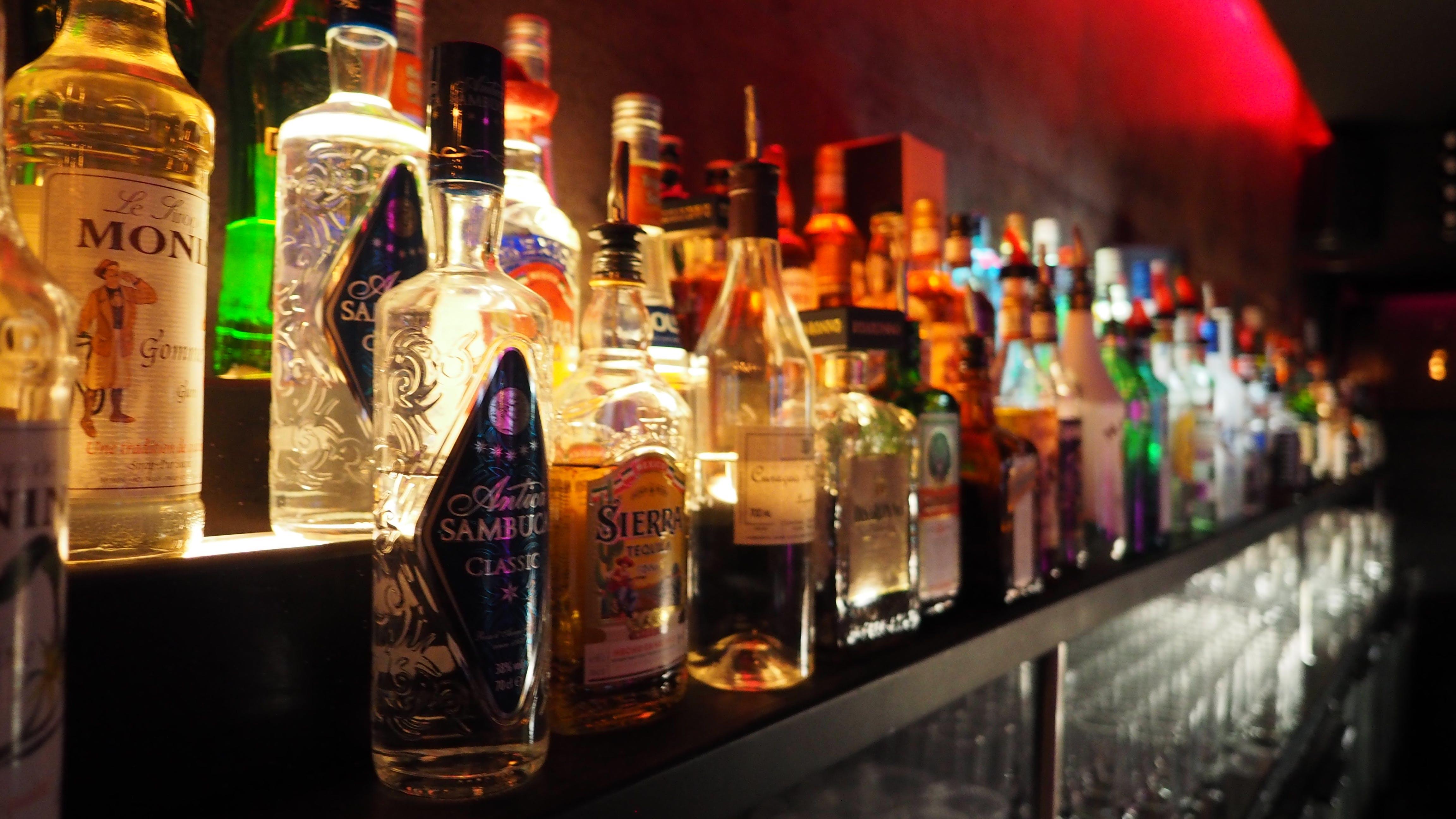 Free stock photo of alcohol, booze, bottles, whiskey