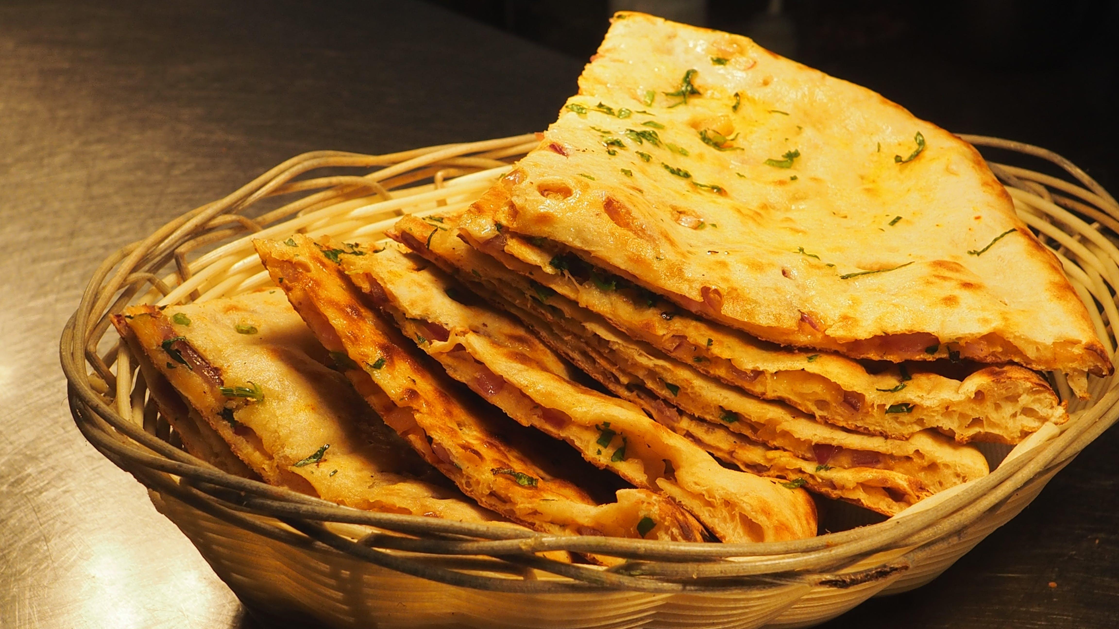 Free stock photo of naan bread, sweet naan