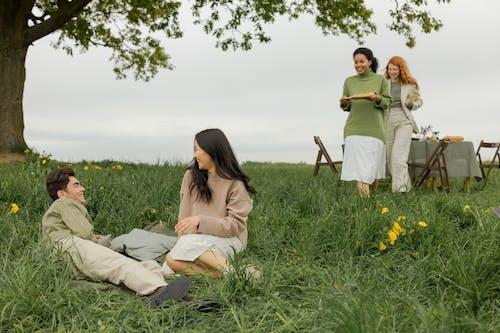 Imagine de stoc gratuită din adult, arbore, bărbat asiatic