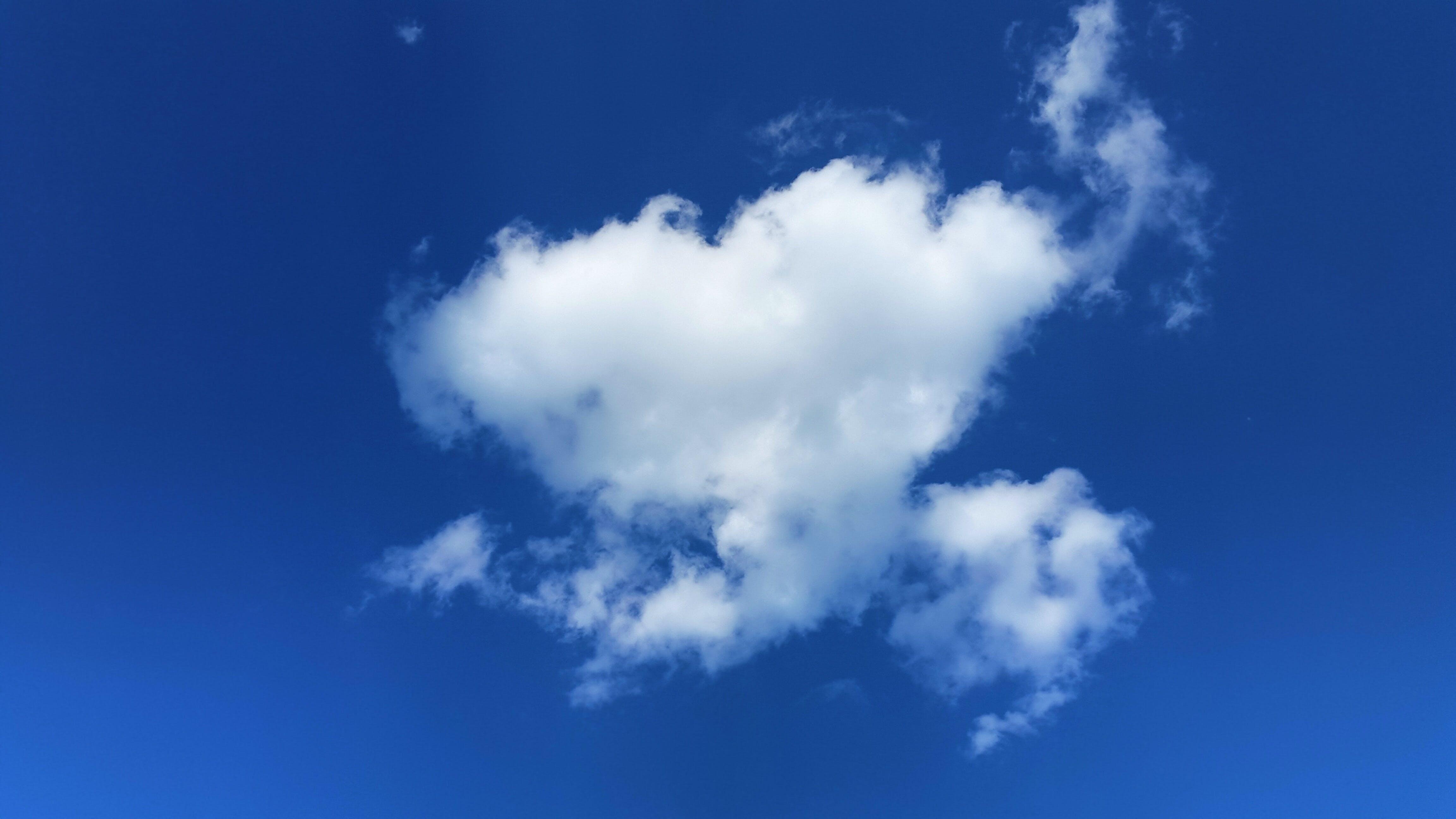Free stock photo of nature, sky, love, heart