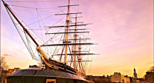 Photos gratuites de angleterre, bateau, britannique, coucher de soleil