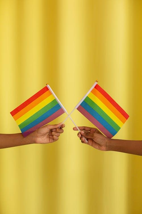 lgbt-h, 同性戀者, 彩虹旗 的 免費圖庫相片