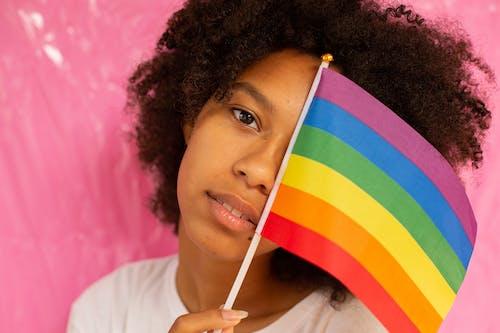 lgbt-h, lgbt標誌, 彩虹旗 的 免費圖庫相片