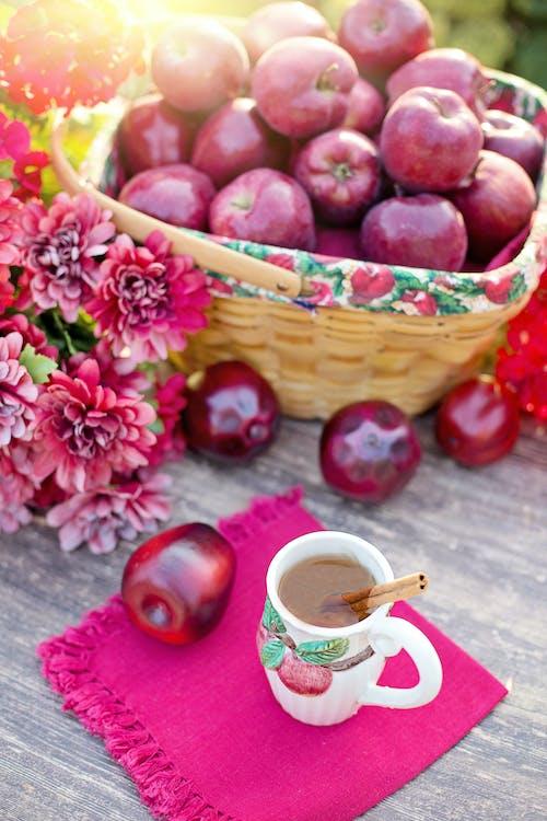 Kostenloses Stock Foto zu äpfel, apfelwein, herbst