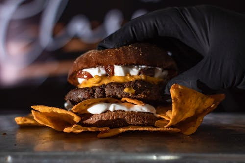 Free stock photo of beef burger, epicure, fast food