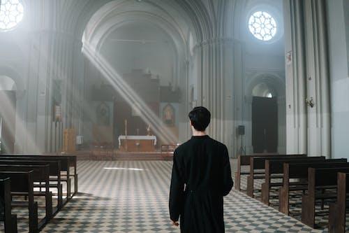 Free stock photo of anonymous, cathedral, catholic