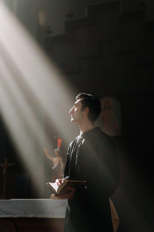 Free stock photo of bible reading, catholic, catholicism