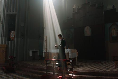 Free stock photo of bible reading, cathedral, catholic