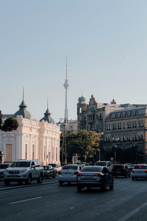 アゼルバイジャン, シティ, トラフィックの無料の写真素材