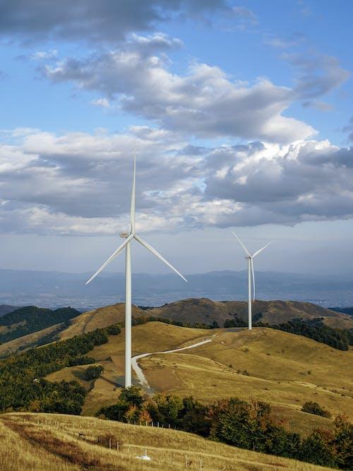 Windmills on the Mountain